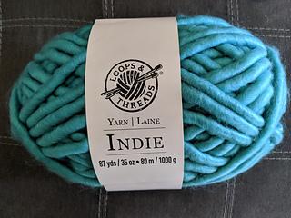 Loops /& Threads Indie Navy Blue Yarn 87 Yards 35oz Super Bulky Acrylic