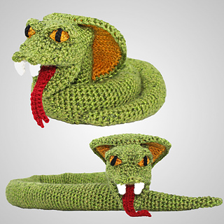 Amigurumi Garden Snake ~ Free Crochet Pattern - YouTube   320x320