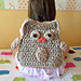 Owl backpack and bag pattern