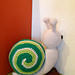 Greeny the spiral tricolor Snail pattern