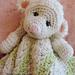 Lamb Huggy Blanket pattern