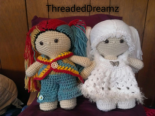 Ravelry: Doll LILLY pattern by CAROcreated design | 240x320
