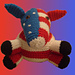 Walter the Democratic Donkey pattern