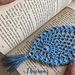 Lace Pineapple Bookmark pattern