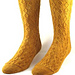 Elegant Chain Socks pattern