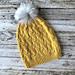 Kornax - Lue og Hals (Kornax - Hat and cowl) pattern