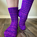 Mahogany Run Socks pattern