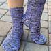 Vanilla Socks on Magic Loop pattern