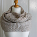 Quilted Lattice Cowl pattern