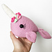 Norah the Narwhal pattern