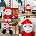 Friendly Santa Shelf Sitter pattern