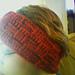 Easy Basket Weave Earwarmer pattern