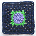 Multi Stitch Granny Square pattern