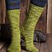 Seed Stitch Socks pattern