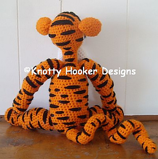 Romeo the Tiger amigurumi pattern - Amigurumi Today | 320x318