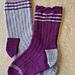 Down The Lane Socks pattern