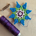 Barbara's Borage pattern