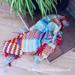 Plaid/Tartan Crochet Blanket pattern