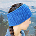 Alpine Winter Headband pattern
