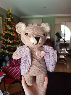 Ravelry: Rilakkuma Inspired Teddy Bear pattern by Hannah Daley ...   320x240