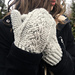 Katri Cable Mittens pattern