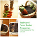 Rabbit and Carrot Basket Accessories pattern