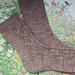 Woodland Walk Socks pattern