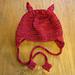Lil' Devil Baby Hat pattern