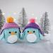 Little Winter penguin pattern