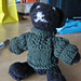 Small Teddy with Sweater and Wellingtons pattern