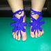 Baby Starfish Barefoot Sandals pattern