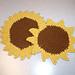 Sunflower Seedstitch Dishcloth pattern
