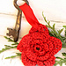 0-743 Christmas flower for key ring pattern