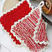 0-874 Christmas pot holders pattern