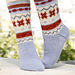 0-880 Socks with pattern pattern