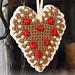 0-1002 Gingerbread Heart pattern