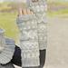 157-9 Silver Dream Wrist Warmers pattern