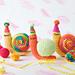 Party Snail Amigurumi pattern
