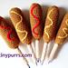 Corn Dog Pens pattern