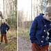 Fall Cardigan Jr / Liten herrehøstjakke pattern