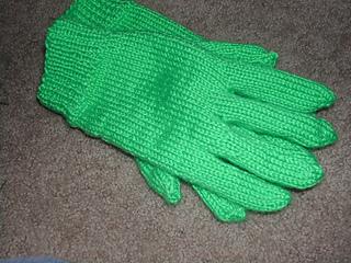 lime gloves