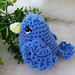 Simply Cute Blue Bird pattern