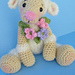 Simply Cute Lamb Toy pattern