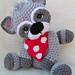 Simply Cute Raccoon pattern