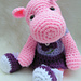 Simply Cute Hippo pattern