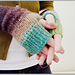 Camp Out Fingerless Mitts pattern