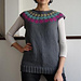 Dots Yoke Sweater pattern