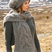 116-15 b - Colombelle Scarf pattern