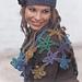 86-13 a - Crocheted Shawl pattern