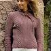 Tyra Pullover or Cardigan pattern